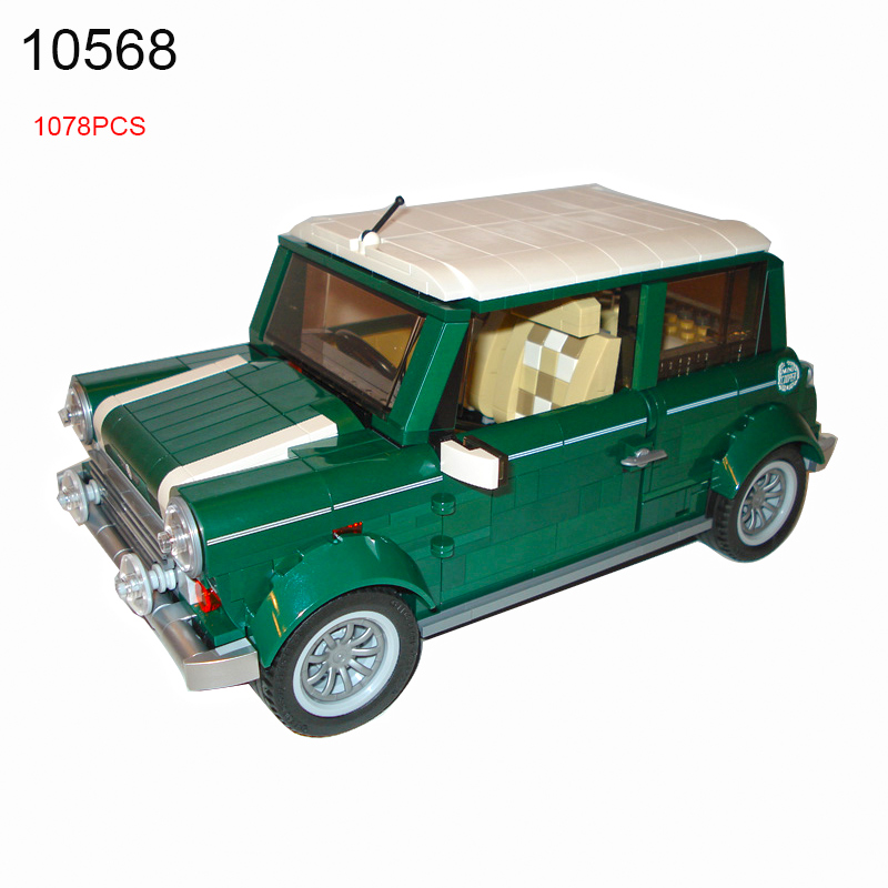 10568 1079pcs Technic Mini Cooper Building Blocks Compatible 10242 Funny Educational Brick Toys for Children<br>