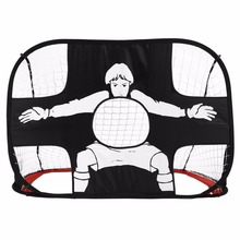 Foldable Football Gate Net Goal Gate Extra-Sturdy Portable Soccer Ball Practice Gate for Children Students Soccer Training(China)