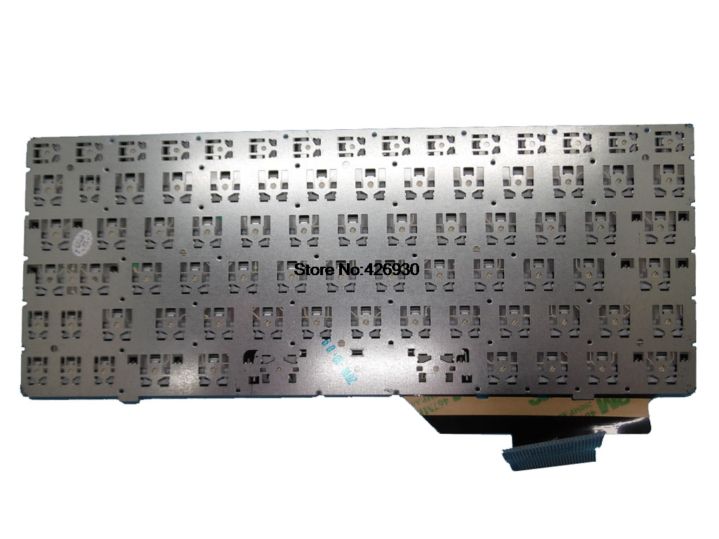 For HP Pavilion 17-e000 17-e100 Keyboard Nordic Frame 720670-DH1 725365-DH1 BLK