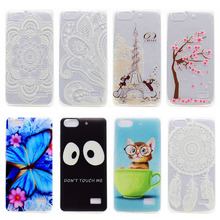 Case Cover For Huawei Honor 4C TPU Painted Back Cover For Huawei Pro TIT-AL00 Y6 Pro TIT-L01 TIT-U02 Enjoy 5 Honor Phone Hood