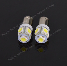 1pcs High Quality BA9S 434 T4W 5 LED 5050 SMD H6W Car Auto Interior Reading Lights Dome Lamp DC 12V