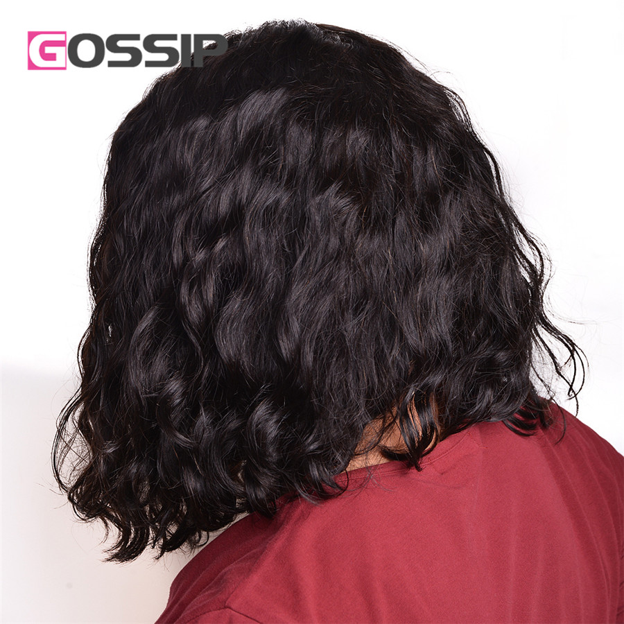 altMalaysian Full Lace Wigs Curly Lace Front Wig Natural Wave Short Curly Cuts Full Lace Front Wig Human Hair Cheap-Human-Hair-Wigs