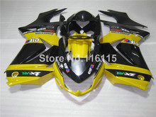 Fairing kit for Kawasaki Ninja fairings 250r 2008 2009- 2014 injection molding EX250 08-14 ZX250 yellow black bodywork set NZ56