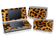Leopard Design Vinyl Skin Sticker Protector for Nintendo DS Lite NDSL Skins Stickers For NDSL(China)