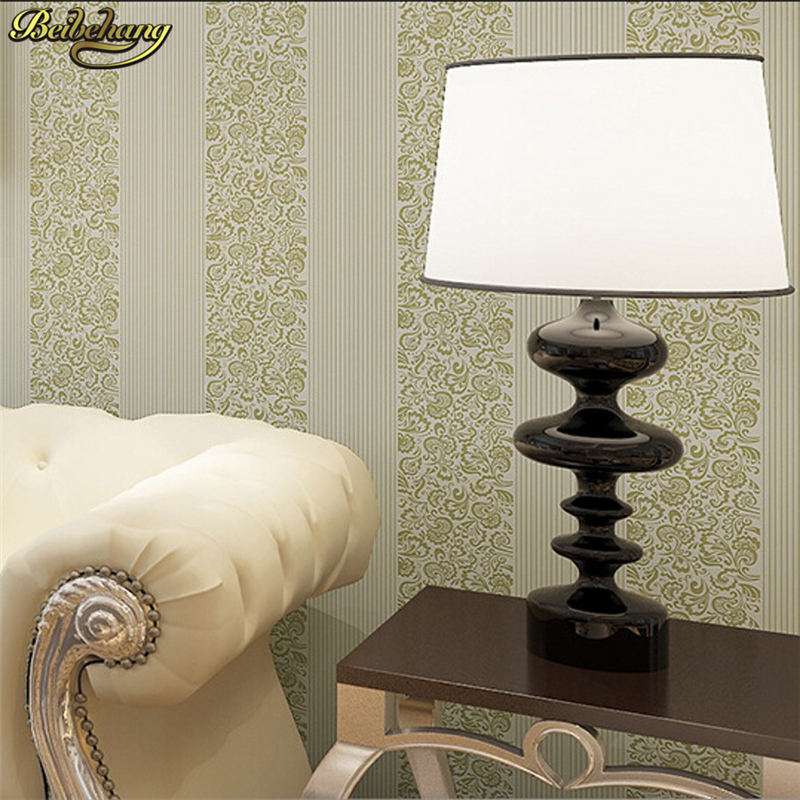 beibehang Vertical stripes papel de parede 3D wallpaper girl wall paper non-woven contact paper wallpaper roll for bedroom<br>