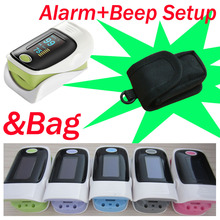 with Bag 4 Colors Finger pulse oximeter SPO2 PR monitor O LED 6 Display Modes Blood Oxygen Monitor Ossimetro oxymetre