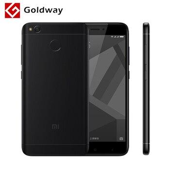 """Original Xiaomi Redmi 4X 4 X Mobile Phone Snapdragon 435 Octa Core 5.0"""" 2.5D Screen 2GB RAM 16GB ROM 13.0MP 4100mAh Fingerprint"""