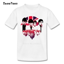 children's T Shirt The Who Cotton Short Sleeve British Rock Music O Neck Tshirt Tees Boys Girls 2017 Designer T-shirt For Kids(China)