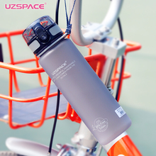 Uzspace My Water Bottle 500 ml Protein Shaker Portable Sport Hiking Camping Space Fruit Juice Plastic Eco-Friendly Drinkware(China)