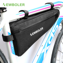 2017 NEWBOLER Large Size Bicycle Triangle Bag Bike Frame Front Tube Bag Waterproof Cycling Bag Pannier Packing Pouch Accessories
