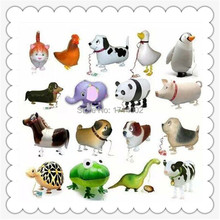 HOT!!!  over 30 style Mixed designs Free shipping 300pcs/lot walking pet balloon Farm balloon classic toys