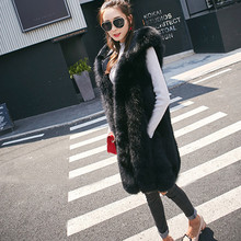 Hoodies Faux Fur Vest Collarless Women Sleeveless Elegant Casual Autumn Coat Pocket Fashion Waistcoat Open Front Loose Vest