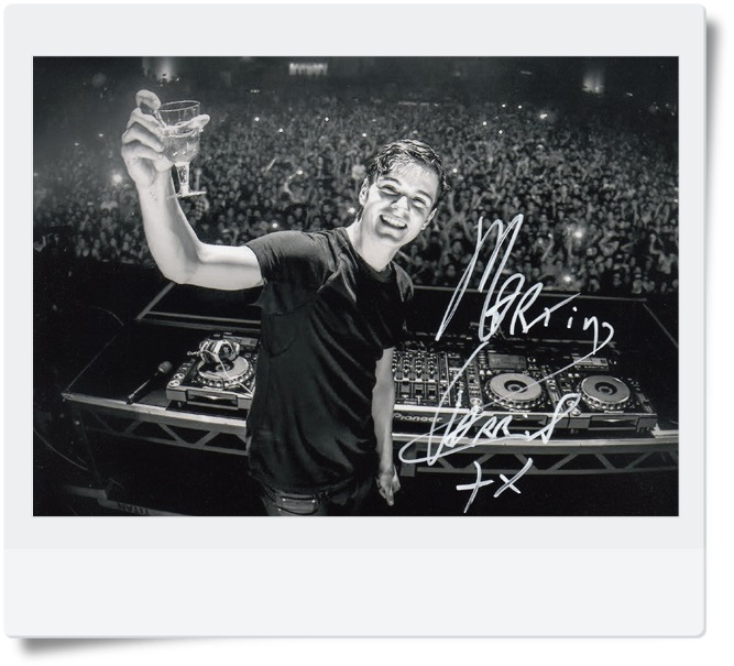 signed Martin Garrix  autographed photo 7 inches  freeshipping  072017 03<br>