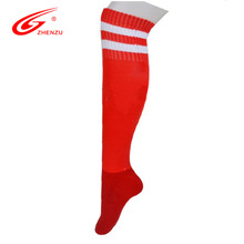 ZHENZU Elastic Sport Socks Knee Legging Soccer Stockings Knee-high Football Long Socks for Men Women Size 38-44(China)
