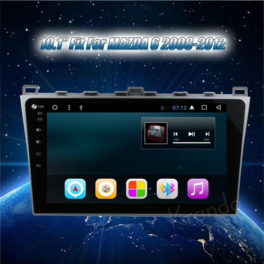 krando mazda 6 android car radio gps navigation multimedia system (6)