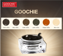 Goochie Permanent Makeup professinal microblading eyebrow tattoo ink pigment paste 6 colors available