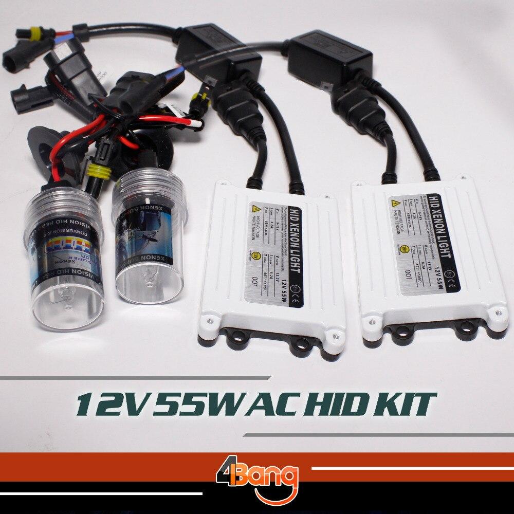 High Quality quick start Fast Bright xenon hid kit 12V 55W H3 Fast hid conversion kit digital ballast Car Headlight 3000K-30000K<br><br>Aliexpress