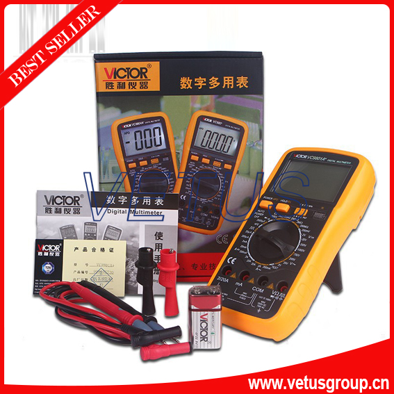 VICTOR VC9801A+ Large screen low price digital multimeter<br><br>Aliexpress