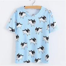 Hot Selling Style Fashion Summer Women Ladies Floral Print Loose O-Neck Short Sleeve T-shirt T Shirt 4 Patterns to Choose(China)