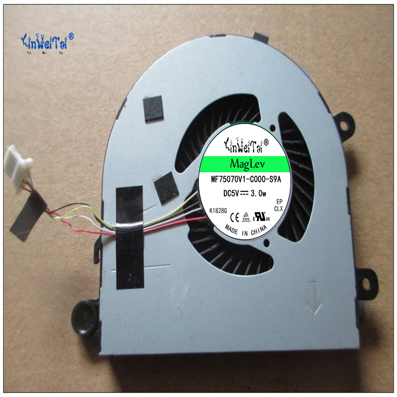 Laptop CPU cooling fan for FCN DFS501105PR0T FFNX 5V 0.5A cooling fan<br>