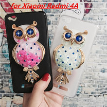 Buy Original Phone Cases Cover Xiaomi Redmi 4A 3D Quicksand Liquid Soft Silicone Case Girl Back Covers Capa Fundas Shell for $3.46 in AliExpress store