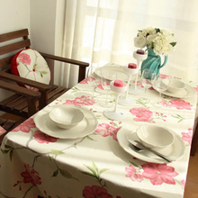 Table Cloth Decoration Tablecloth Cover Flower Casamento Toalha De Mesa Rectangle Tablecloths Cloths Pink Tafelkleed Plaid