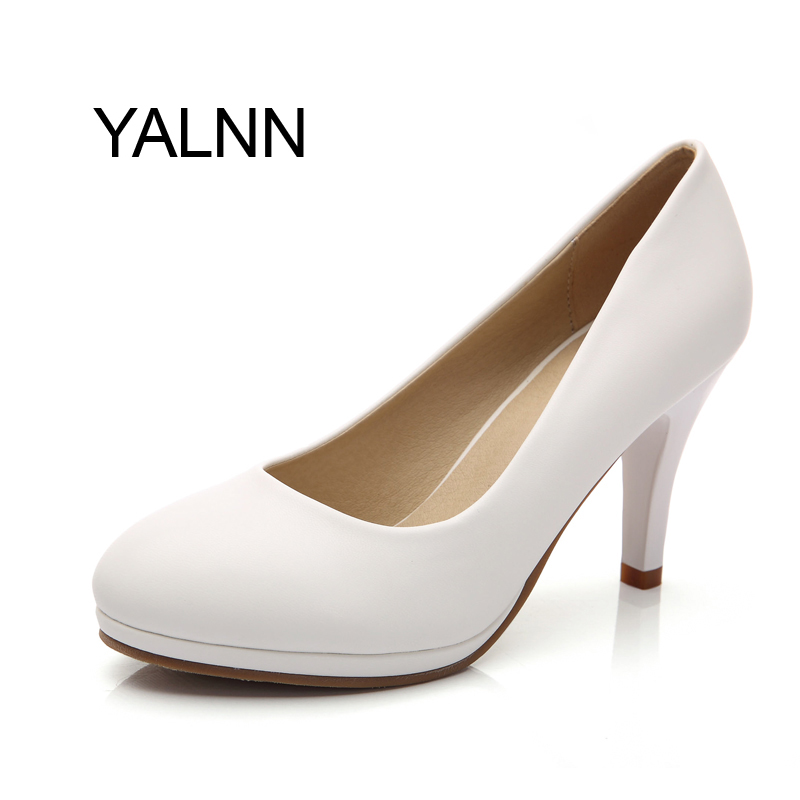 Women Office lady high heels shoes Womens Pumps Party Show Shoes Women Thin Heel Pointed Toe Pumps for lady<br><br>Aliexpress