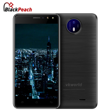 Original VKworld F2 Mobile Phone 5.0 inch HD IPS MTK6580A Quad Core Android 6.0 2GB RAM 16GB ROM 8MP Cam Dual Flash GPS