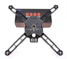 FPV Across frame Q380 Multirotor Quadcopter Frame lightweight High Strength Free Shipping(China)