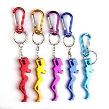 Cute Sexy Beauty Shape Bottle Opener Aluminum Alloy Beer Bottle Opener Beer Opener Keychain Portable Creative Bar Tool(China)