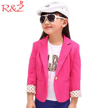 2017 spring new kids suits jacket for girls,Children brand casual coats, Fashion trench girl blazers kids clothing free shipping