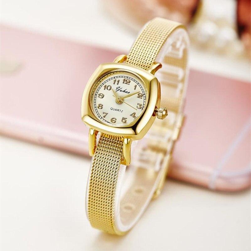 Rose Gold Bracelet Bangle Rhinestone Crystal Watches Ladies Watch Original rectangle Quartz Women Fashion Dress watches AC078<br><br>Aliexpress
