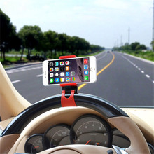 Buy Universal Car Holder Steering Wheel Bike Clip Mount Rubber Band Holder iPhone Samsung Xiaomi Lenovo Mobile Phone Bracket for $1.17 in AliExpress store