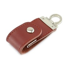 USB Flash Drive 128GB  Custom Pen Drive Pendrive Mini PU Leather Style 8GB 16GB 32GB 64GB Memory Stick