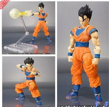 S.H.Figuarts Son Gohan black hair action figure DRAGON BALL Z toy doll great gifts(China)