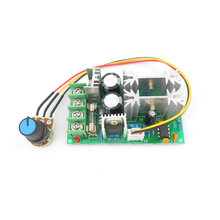 DC motor speed regulator 12V 24V 36V 48V High power drive module PWM Motor speed controller 20A current regulator(China)