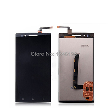 ToP Quality Replace with New Front Glass LCD Display + Digitizer Touch Screen LCD Assembly For OPPO X909 Find 5 Free shipping
