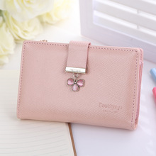 2016 new arrive solid candy color women Wallets,sweet design lady's medium size wallets and purses.Clutch bag,promotion.