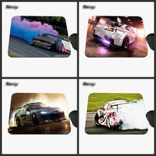 Hot Wholesale Sales Professional Printing Custom Laptop Fashion Cool Car Drift Non-slip Rubber Rectangular Game Mouse Pad