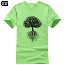 Árvore Da Vida T Shirt Homens Criatura T-Shirt Impresso Masculino Elegante  Tshirt da Camisa e94ef73b5b221