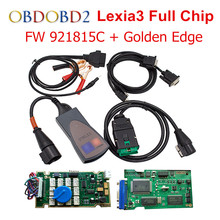 A++ Quality PCB Board Diagbox V7.83 Lexia Lexia3 FW 921815C Full Chips Lexia 3 PP2000 V48 With 12pcs Relays 7pcs Optocouplers(China)