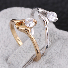 New Arrival fashion accessorries tail ring  wholesale pinky ring hotsale KUNIU J27024