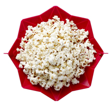 New DIY popcorn Bucket Microwaveable Popcorn Maker Foldable Pop Corn Bowl Microwave Safe popcorn maker kitchen bakingwares