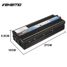 Vehemo 2000W Power Inverter Vehicle Converter Portable Adapter Car Inverter Automobile High Performance Mobile Phone(China)