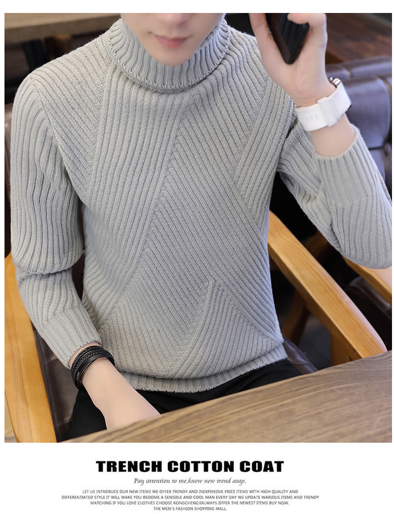 polo neck sweaters men