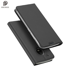 DUX Luxury Flip Leather Case For MOTO G5 Cases G 5 Plus Fashion Wallet Cover Cases For Motorola moto g5 g5plus Phone Cover Capa