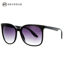 AEVOGUE Brand New brand Vintage sunglasses women Good quality big frame hot selling sun glasses 6 colors Oculos UV400 AE0172