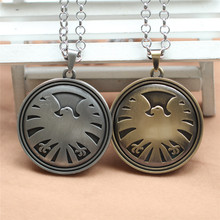 Free shipping Movie key chain Agents of S.H.I.E.L.D. pendant necklace