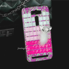 Snow Fox Bling Colorful Square Phone Case for Asus Zenfone 2 Laser 5.0/ZE500KL New PC Hard Celular Funda Shell Case Accessories