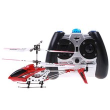 FREE SHIPPING 3.5CH Original SYMA S107G RTF RC Helicopter with gyro for Children gift toys Remote Control Helicopter(China)